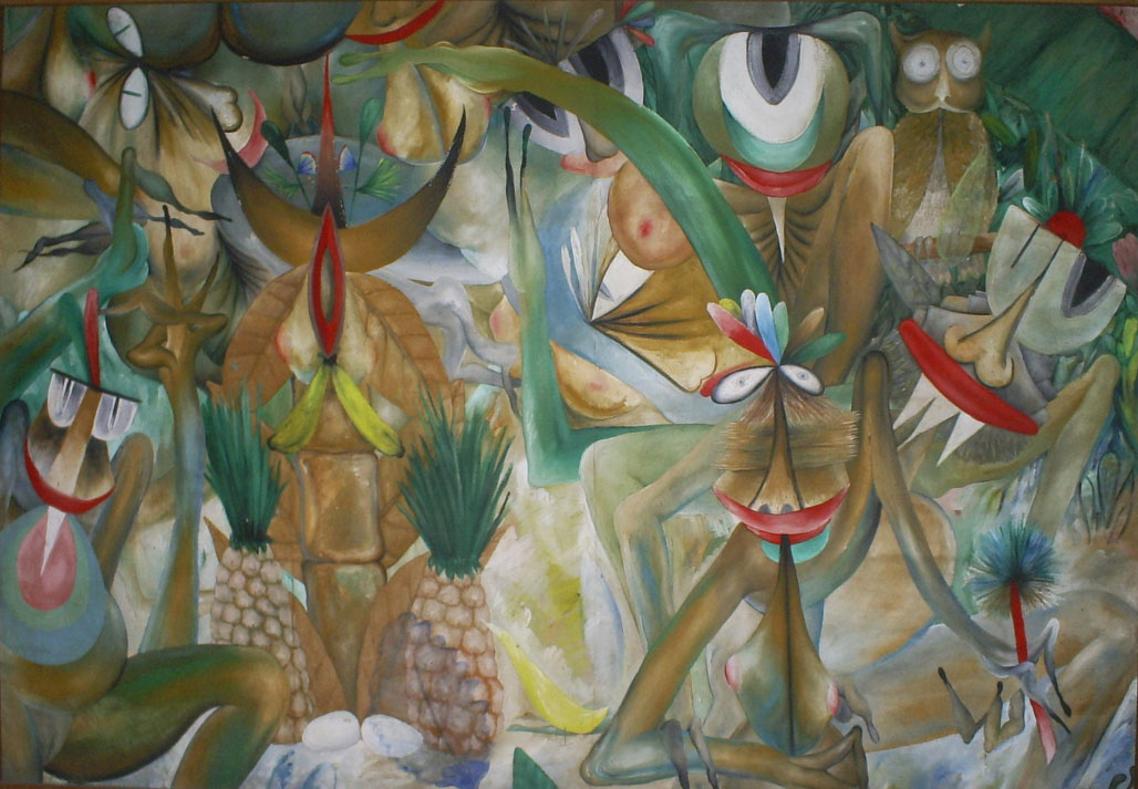 Manuel Couceiro, Untitled / Sin título, oil on canvas, 107 x 152 cm., ca. 1970