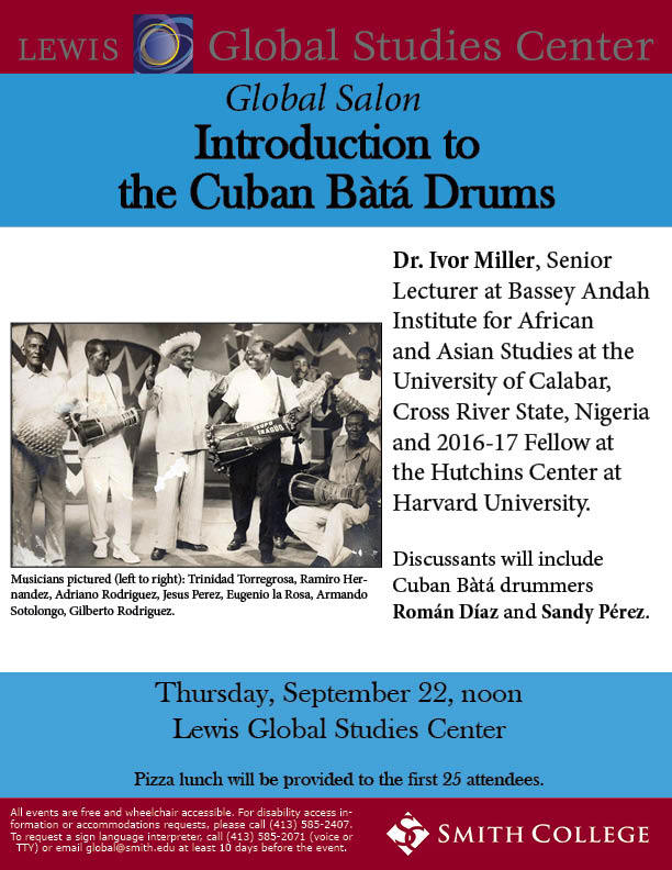 Introduction to Cuban Bata Drums